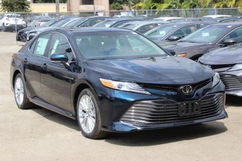 New 2018 Toyota Camry XLE 4dr Car