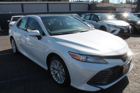 New 2018 Toyota Camry XLE V6 4dr Car