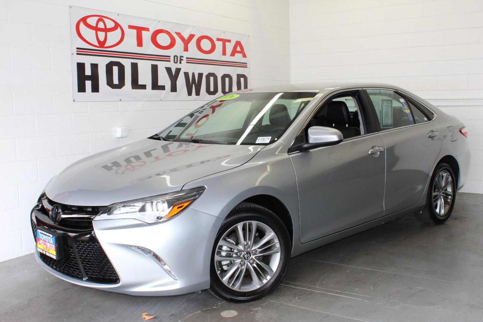 Pre-Owned 2016 Toyota Camry 4dr Sdn I4 Auto SE
