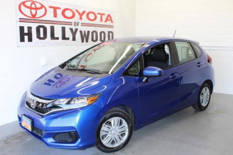 Pre-Owned 2018 Honda Fit LX CVT