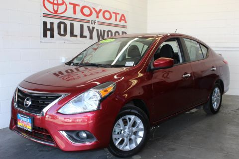Pre-Owned 2018 Nissan Versa Sedan SV CVT