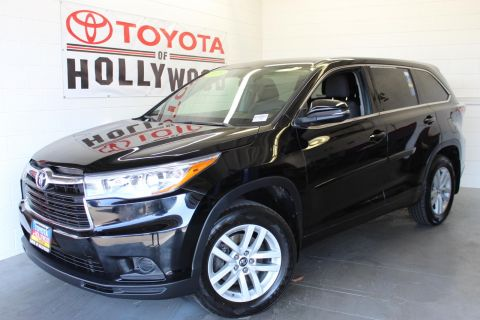 Pre-Owned 2016 Toyota Highlander AWD 4dr V6 LE