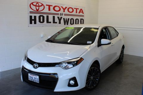 Pre-Owned 2016 Toyota Corolla 4dr Sdn CVT S Plus