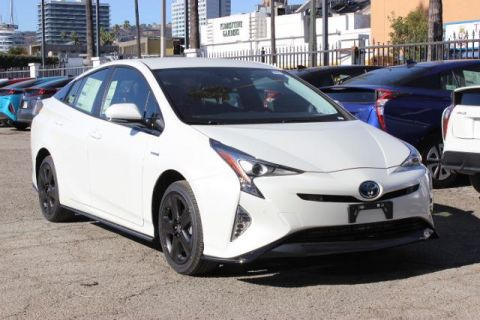 New 2017 Toyota Prius Three Touring 4dr Car With Navigation