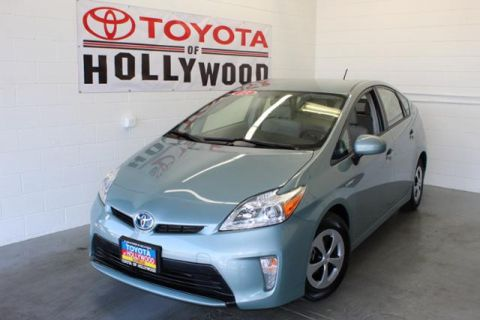 Pre Owned 2017 Toyota Prius 5dr Hb Three 4dr Car